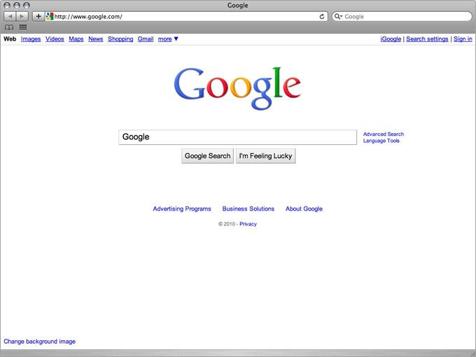 Google Infinite Loop