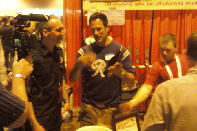 Dogfish Head at the Great American Beer Festival