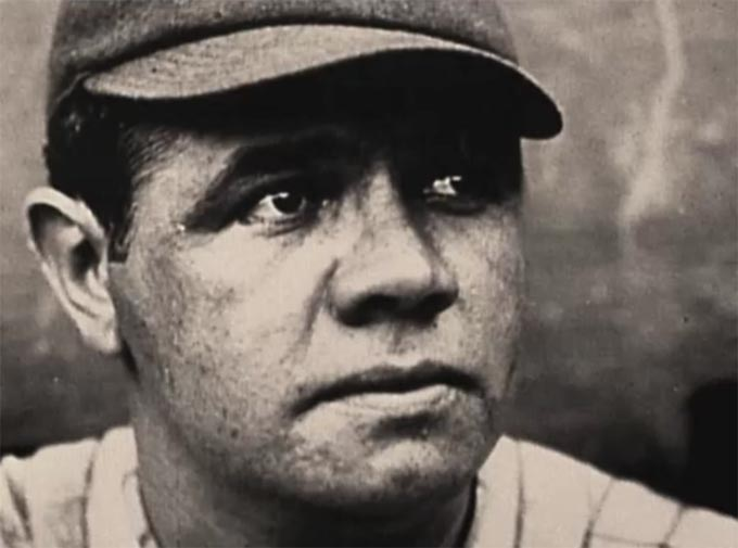 Babe Ruth in Ken Burns' Baseball