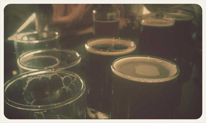 Tasters at Equinox Brewing Company