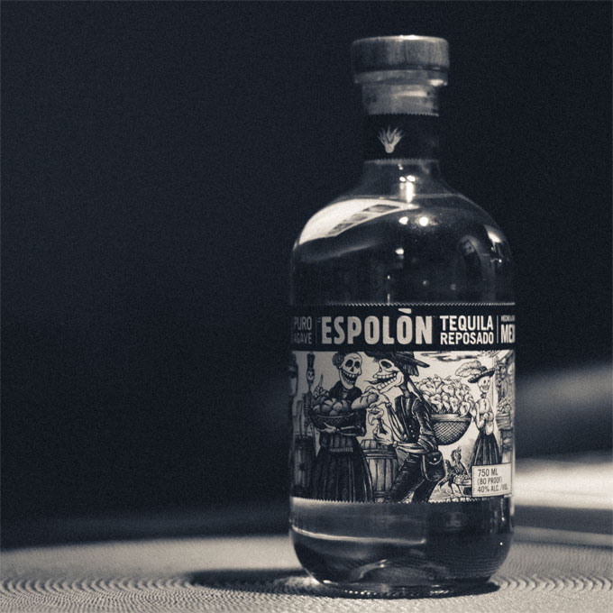 Espolón Tequila Bottle