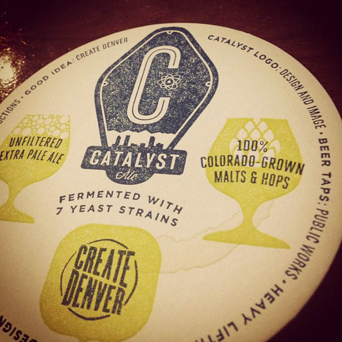 Catalyst Ale Coaster