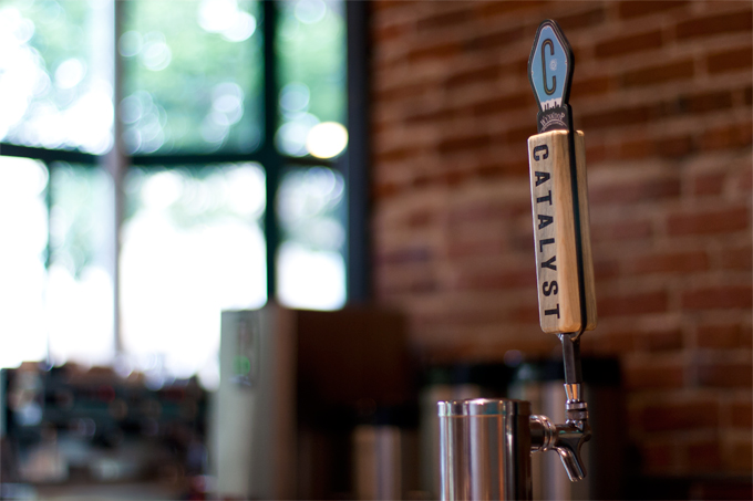 Catalyst Ale Tap Handle